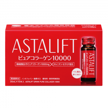 Astalift Pure Collagen Drink 10,000mg 30ml x 10 Bottles