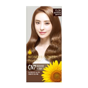 Flor De Man Wonder Flower Hair Color CN7 Choco Brown 50g+70g