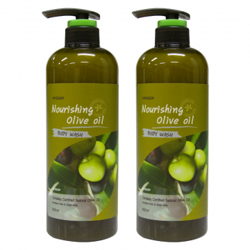 Hyssop 1+1 Promotion Nourishing Body Wash (Olive Oil) 2 x 800ml