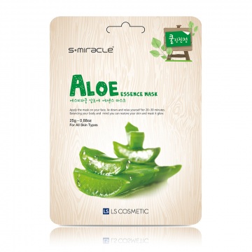 S+Miracle Aloe Essence Mask 25g