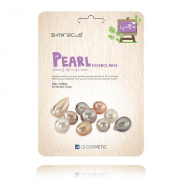 S+Miracle Pearl Essence Mask 25g