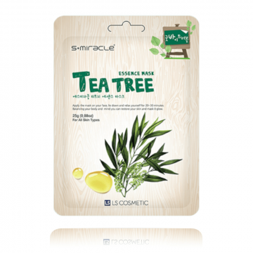 S+Miracle Tea Tree Essence Mask 25g