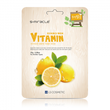 S+Miracle Vitamin Essence Mask 25g