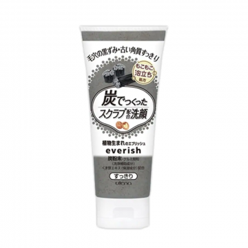 Utena Everish Scrub Wash Charcoal Extract 135g